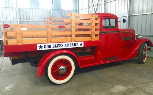 1936 Diamond T Stake Truck For Sale (picture 2 of 6)