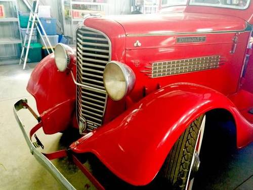 1936 Diamond T Stake Truck For Sale (picture 3 of 6)