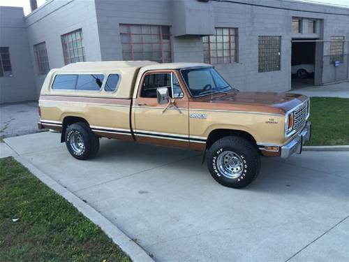1979 Dodge Power Wagon For Sale (picture 1 of 6)