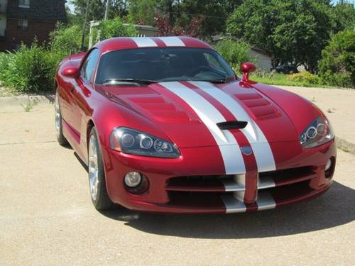2008 Dodge Viper SRT10 Coupe For Sale (picture 1 of 6)