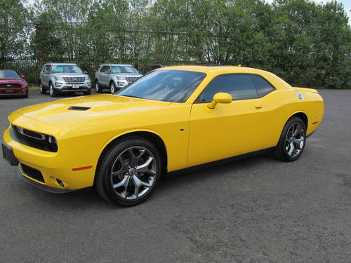 2017 Dodge Challenger Sxt Plus 3 6l Yellow Jacket Sold Car And Classic