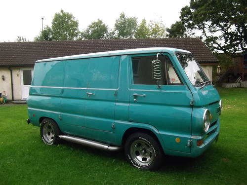 1969 Dodge A100 Shorty Panel Van V8 Auto with Nice Patina  SOLD (picture 1 of 6)