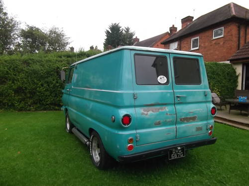 1969 Dodge A100 Shorty Panel Van V8 Auto with Nice Patina  SOLD (picture 2 of 6)