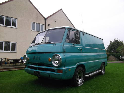 1969 Dodge A100 Shorty Panel Van V8 Auto with Nice Patina  SOLD (picture 4 of 6)