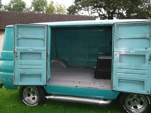 1969 Dodge A100 Shorty Panel Van V8 Auto with Nice Patina  SOLD (picture 5 of 6)