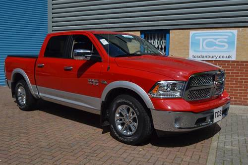 2014 Dodge RAM 1500 5.7i HEMI Crew Cab LARAMIE SOLD (picture 1 of 6)