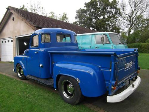 1953 Dodge Step Side Pick up, 351 V8 5759cc Cool Hot Rod, Rat rod SOLD (picture 1 of 6)
