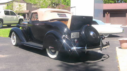 1936 Dodge D2 Rumble Seat Convertible Coupe  For Sale (picture 2 of 6)