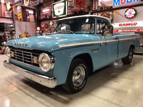 1966 Dodge 100 Pickup For Sale (picture 1 of 6)