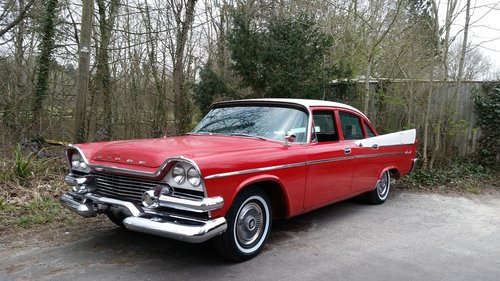 1958 DODGE CORONET SWEPT WING , FILM VEHICLE DISPOSAL For Sale (picture 1 of 6)