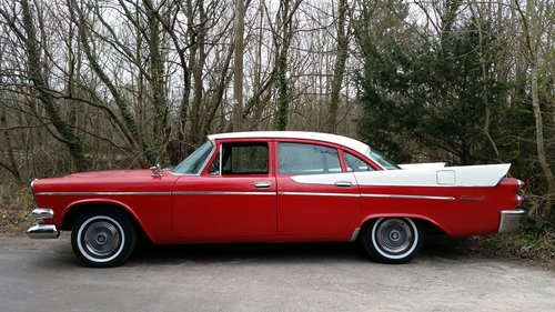 1958 DODGE CORONET SWEPT WING , FILM VEHICLE DISPOSAL For Sale (picture 3 of 6)