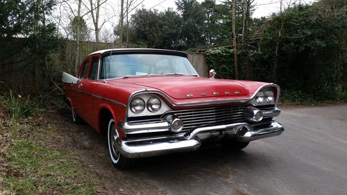 1958 DODGE CORONET SWEPT WING , FILM VEHICLE DISPOSAL For Sale (picture 4 of 6)