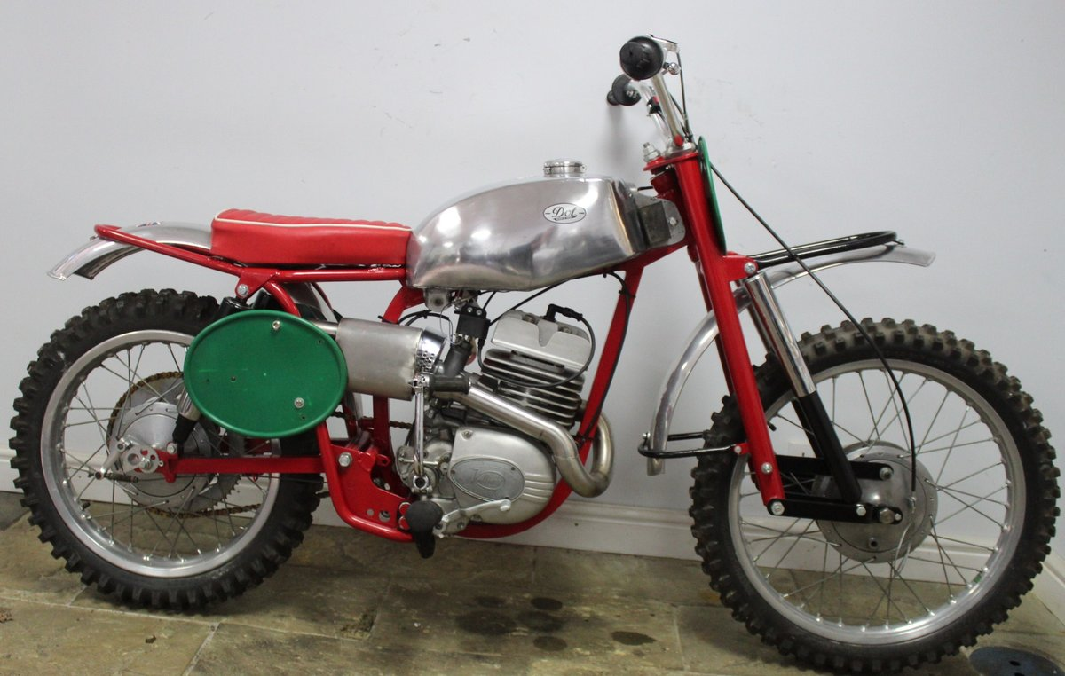 c1964 Dot Demon 250 cc Special Scrambler With Square frame  SOLD (picture 1 of 6)