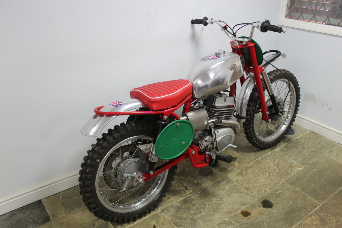 c1964 Dot Demon 250 cc Special Scrambler With Square frame  SOLD (picture 2 of 6)