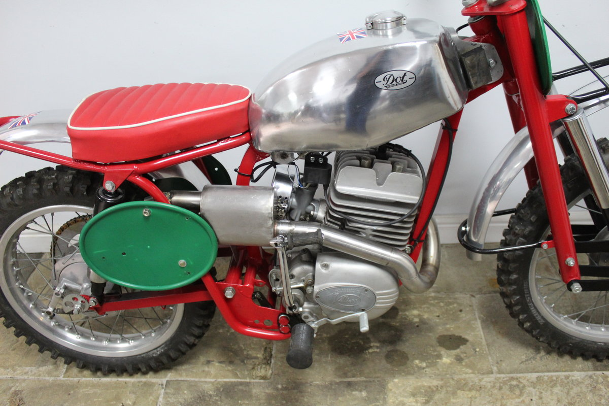 c1964 Dot Demon 250 cc Special Scrambler With Square frame  SOLD (picture 3 of 6)