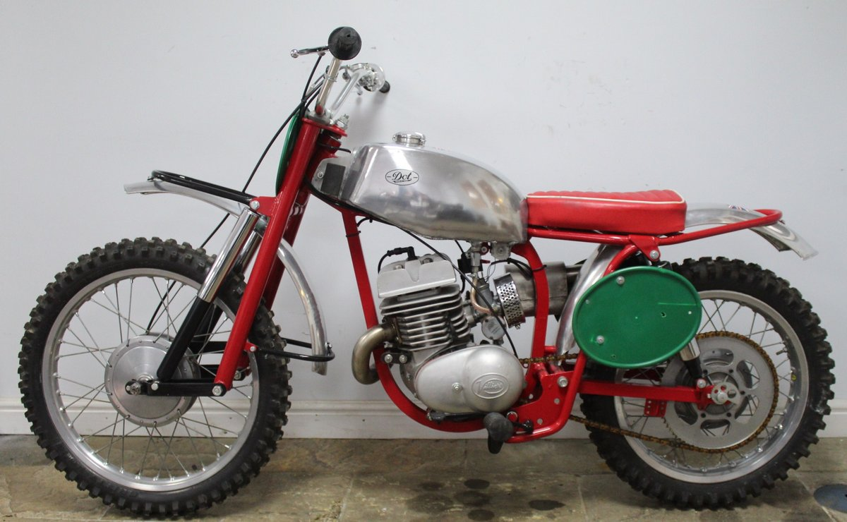 c1964 Dot Demon 250 cc Special Scrambler With Square frame  SOLD (picture 4 of 6)