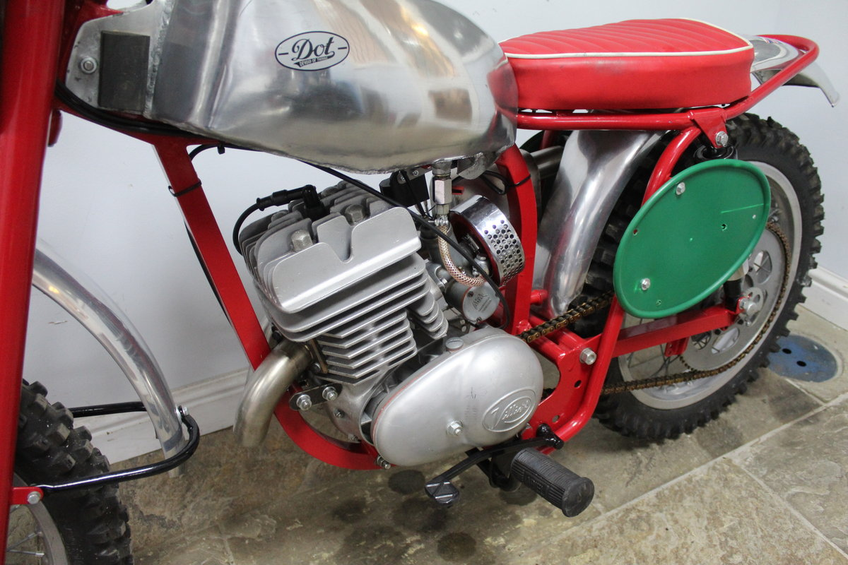c1964 Dot Demon 250 cc Special Scrambler With Square frame  SOLD (picture 6 of 6)