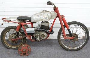 1960 DOT THX Trials with 250cc 34A Villiers engine