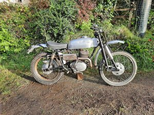 Dot 250cc Works Replica Trials