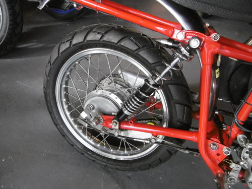 1957 DOT250 TRIALS BIKE ROAD LEGAL RESTORED  SOLD (picture 2 of 6)