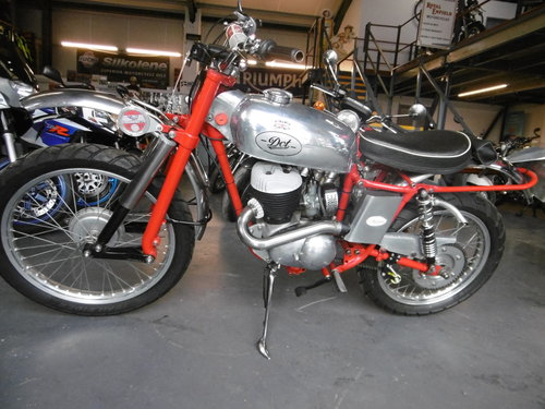 1957 DOT250 TRIALS BIKE ROAD LEGAL RESTORED  SOLD (picture 6 of 6)