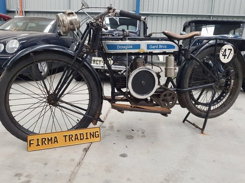 Rare Douglas 1923 350cc 2 3/4 by Firma Australia For Sale (picture 2 of 6)