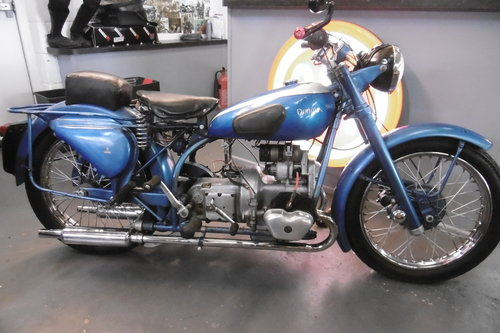 1951 Douglas Mk 5 Rare . Great condition lots of patina  SOLD (picture 1 of 6)