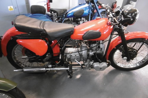 1954 Douglas Mk 5 Rare . Great condition lots of patina SOLD (picture 1 of 6)