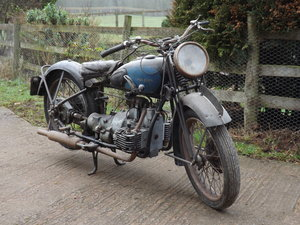 1936 Douglas Endeavour 500cc - Great Rare Project