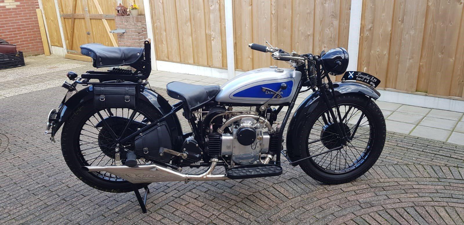 Douglas 1929 600cc SOLD (picture 1 of 6)