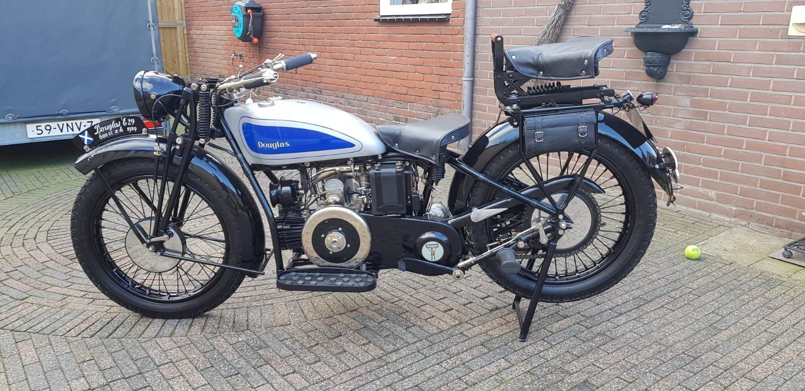 Douglas 1929 600cc SOLD (picture 4 of 6)