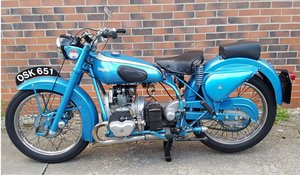 **APRIL AUCTION**1950 Douglas Mk 5 SOLD by Auction