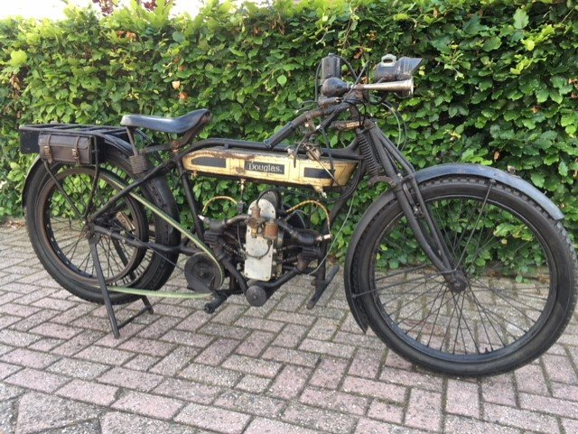 DOUGLAS 2 3/4 HP 1917 For Sale (picture 1 of 6)
