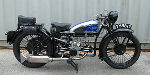 1932 Douglas K32, 350 cc.
