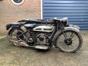1927 Douglas Model SB27 Combination