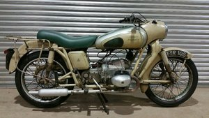 1957 DOUGLAS DRAGONFLY V5C & BUFF LOG BOOK RIDE OR RESTORE  For Sale