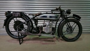 1926  DOUGLAS EW 350cc FOR-AFT TWIN WITH V5C REG DOCUMENT