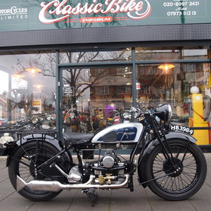 1931 Douglas S6 600cc Original UK Bike, Stunning and Rare. For Sale