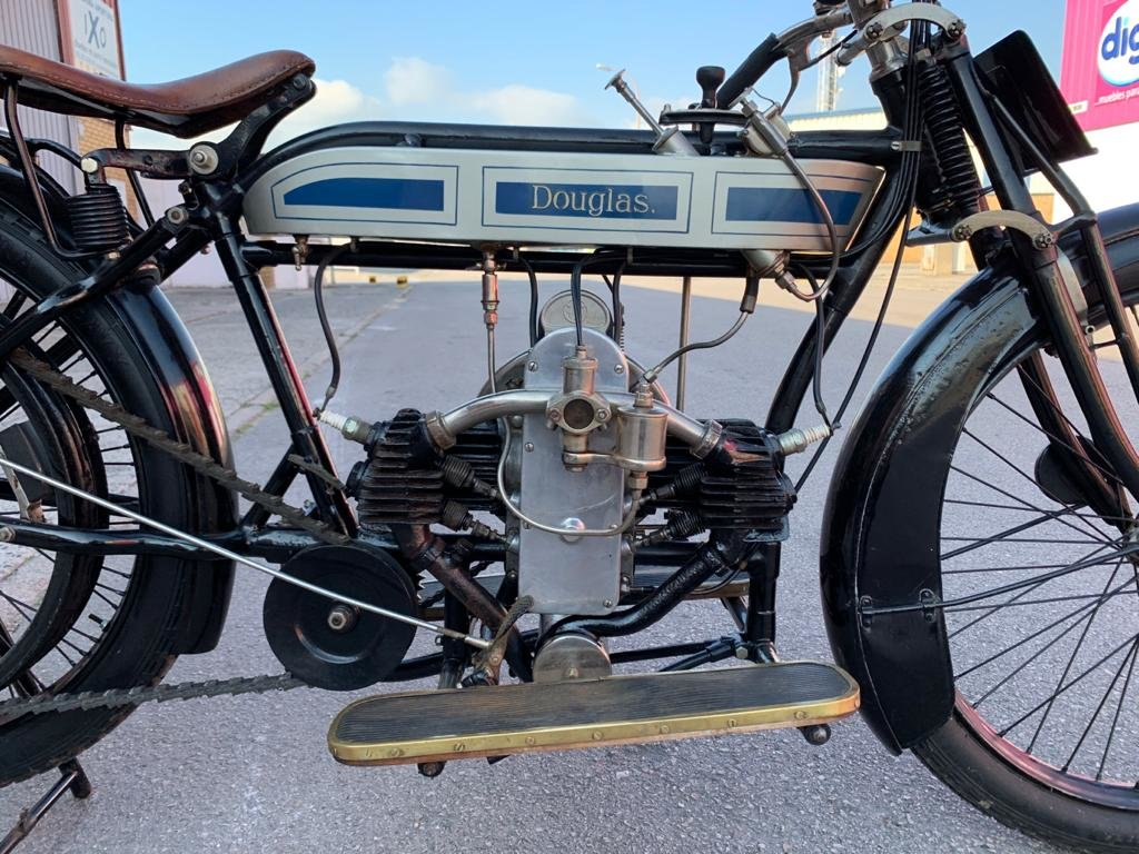 1920 Douglas 2 3/4hp - Fully restored For Sale (picture 2 of 6)