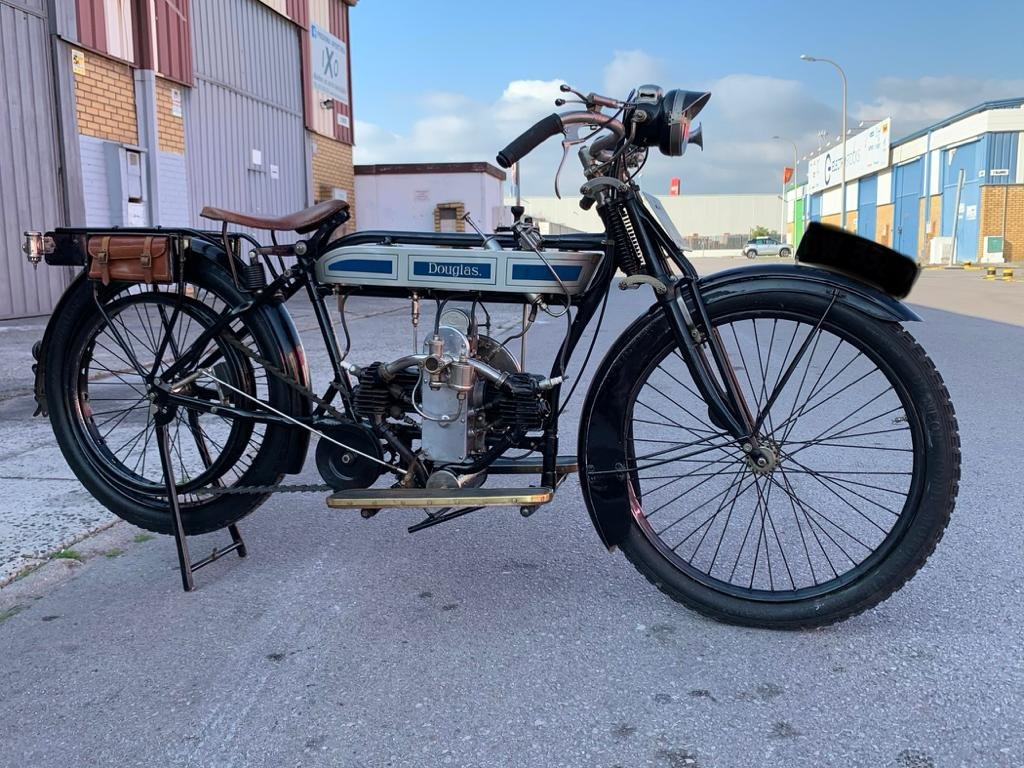 1920 Douglas 2 3/4hp - Fully restored For Sale (picture 6 of 6)