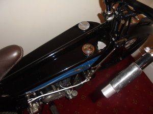 1931 any flat tank and pre war motorcycle