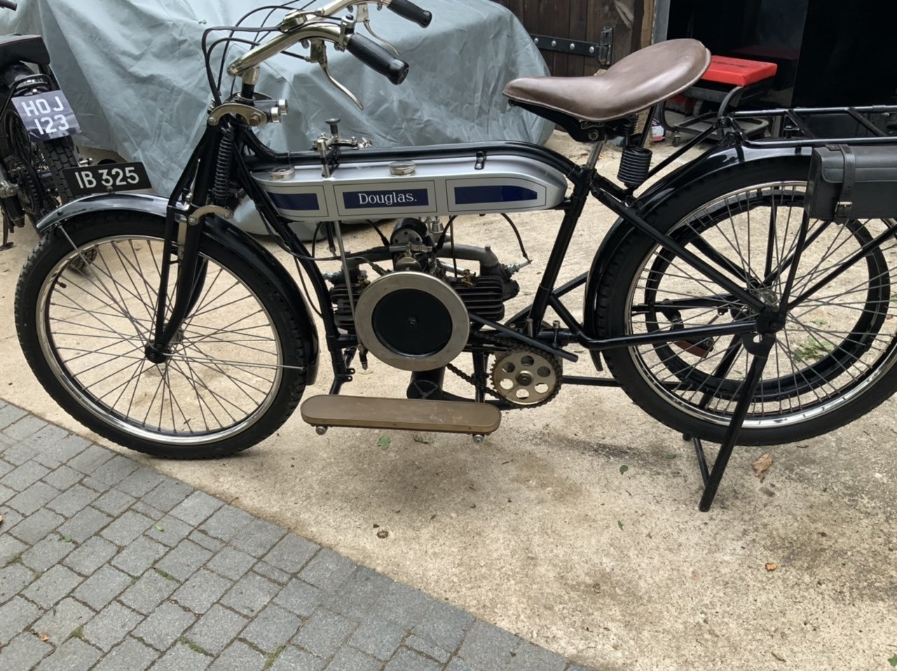 1912 Douglas 2 3/4hp Absolutely stunning For Sale (picture 5 of 6)