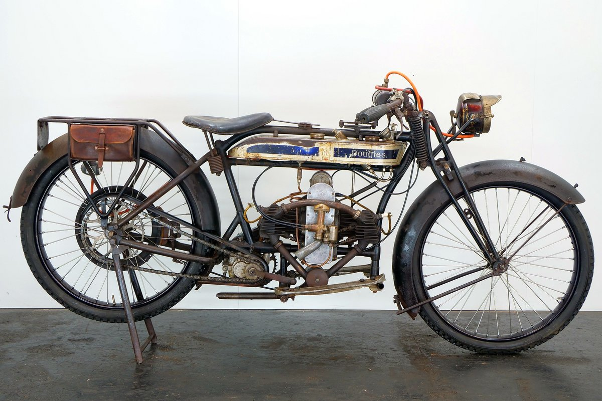 Douglas Model CW 1925 350cc 2 cyl sv For Sale (picture 1 of 6)