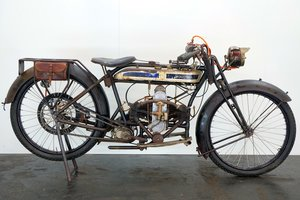 Picture of 1925 Douglas Model CW  350cc 2 cyl sv