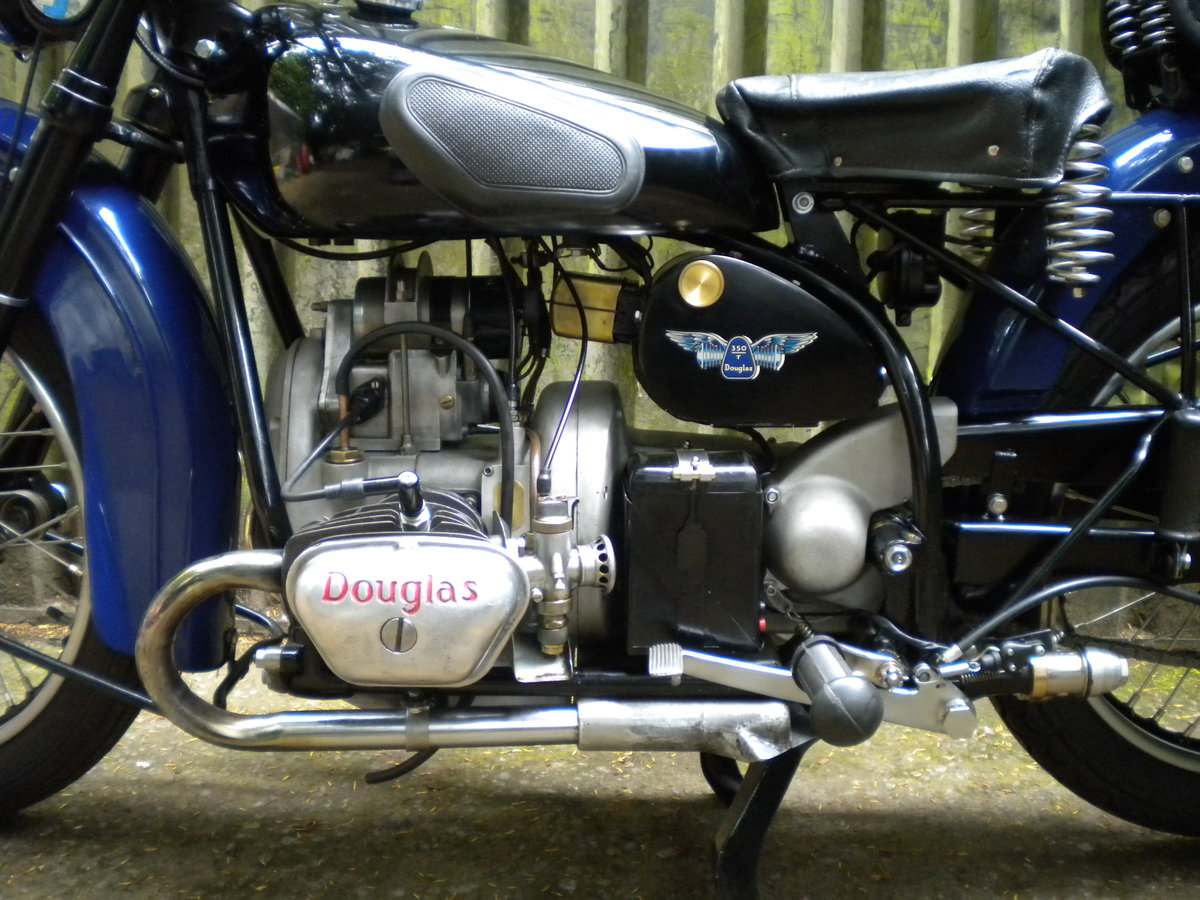 1947 Douglas 350 T35 Mark 1.  For Sale (picture 3 of 6)