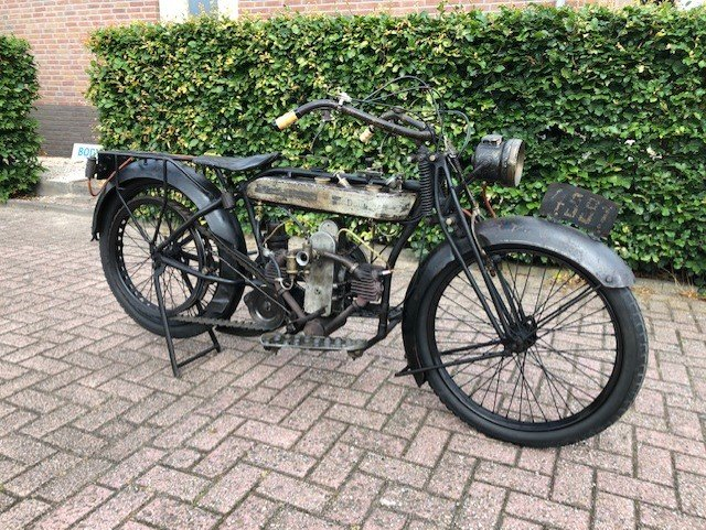 DOUGLAS 2 3/4 HP DELUXE 1924 For Sale (picture 4 of 6)