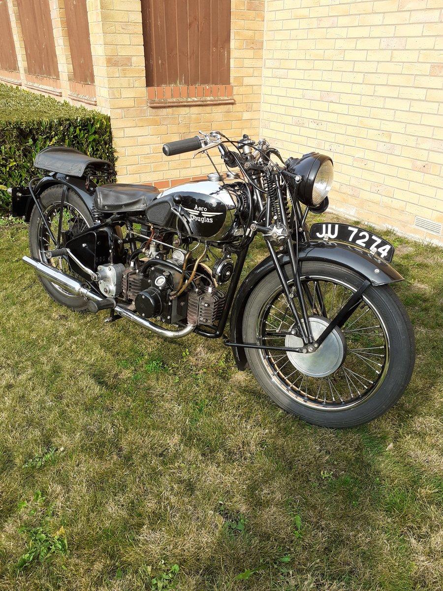 1936 Douglas aero 600cc £9000 For Sale (picture 1 of 6)