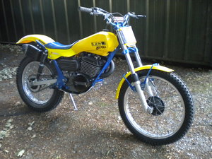 Picture of 1947 Swm jumbo 350 1983 trials bike