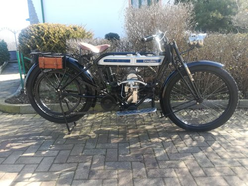 Douglas 2 ¾ HP 350 cc -  1916 For Sale (picture 1 of 6)