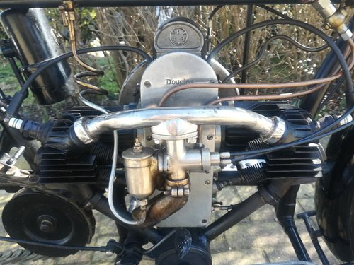 Douglas 2 ¾ HP 350 cc -  1916 For Sale (picture 4 of 6)